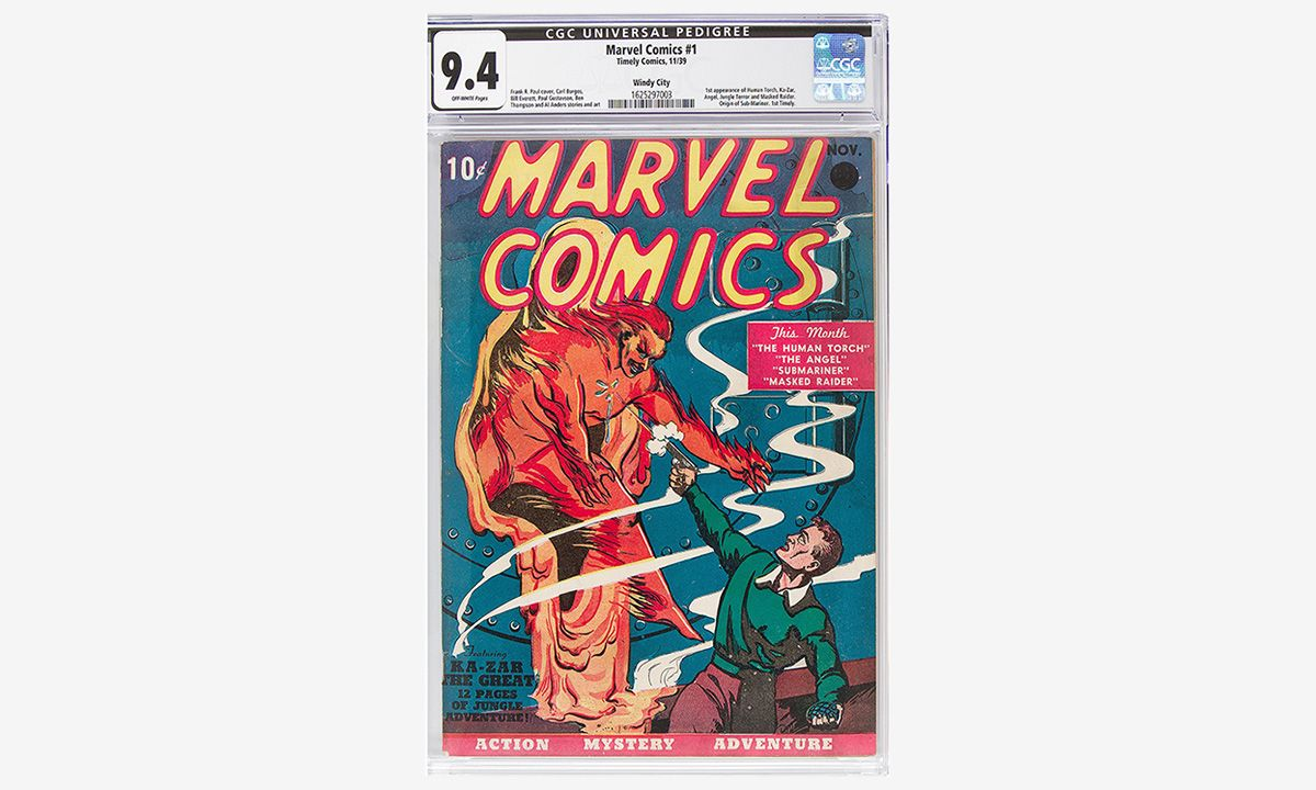 'Marvel Comics No. 1' Fetches $1.26 Million to Become the Most Expensive Marvel Comic