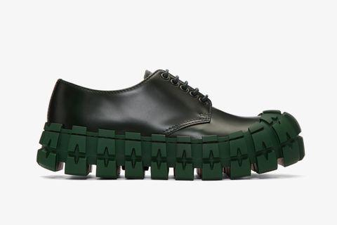 Prada derby main derby shoes ssense