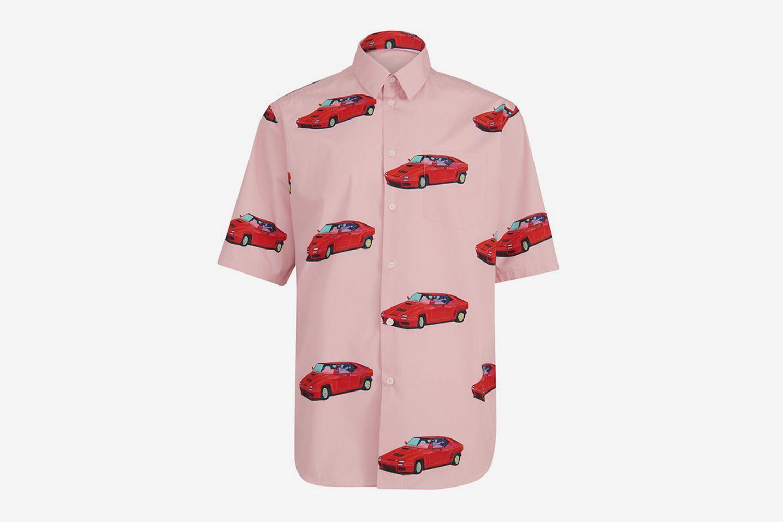 Short Sleeves Printed Shirt
