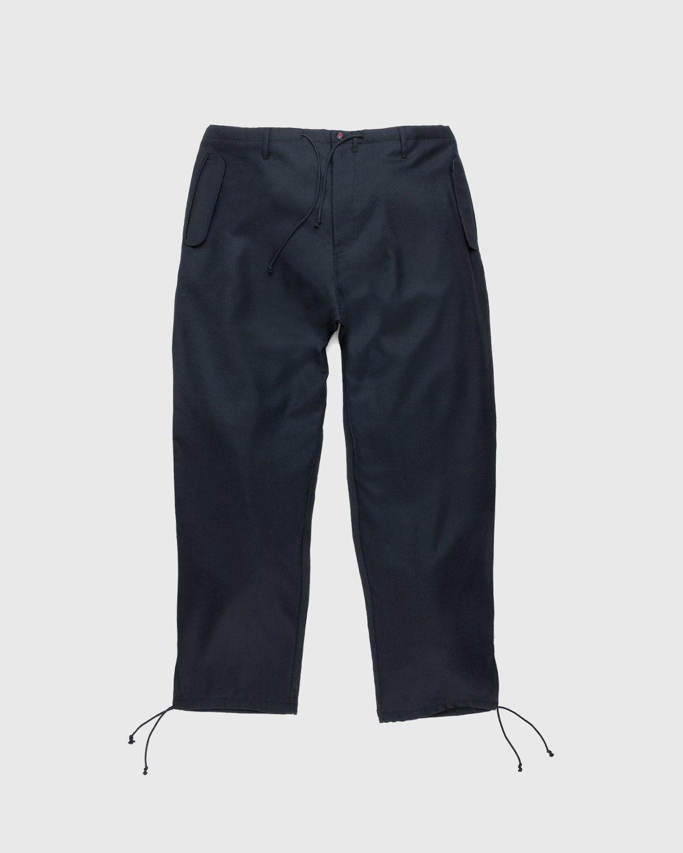 Maison Margiela – Drawstring Leg Trousers Black - Image 1