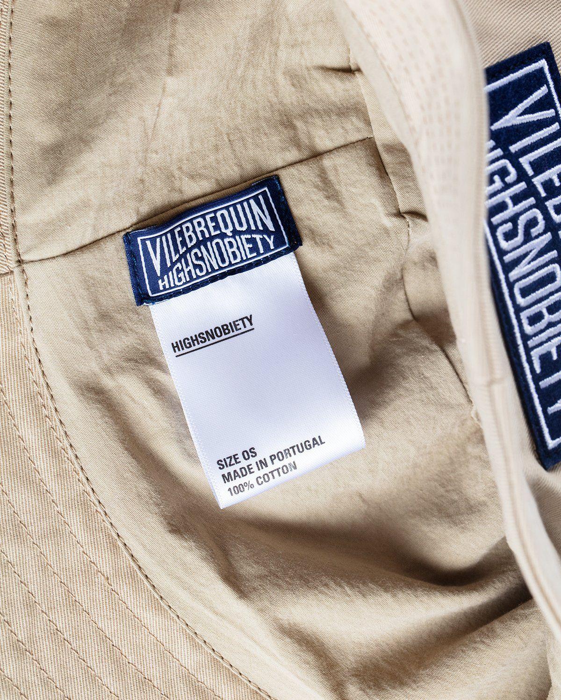 Vilebrequin x Highsnobiety — Logo Bucket Hat Beige - Image 3