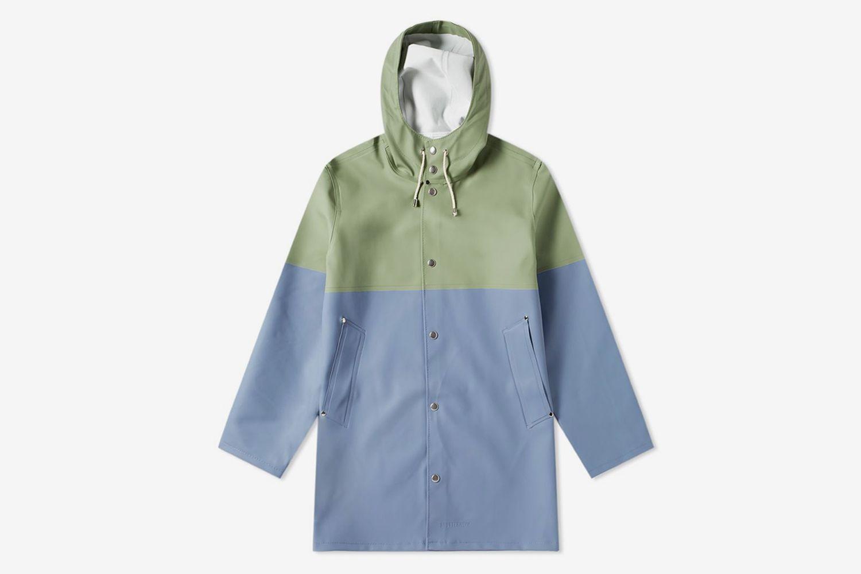 Stockholm Blocked Raincoat