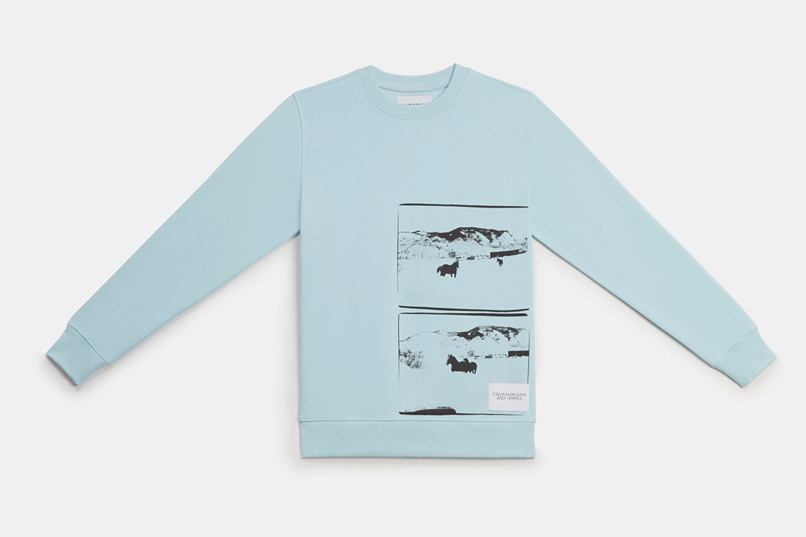 calvin klein jeans landscapes The Andy Warhol Foundation