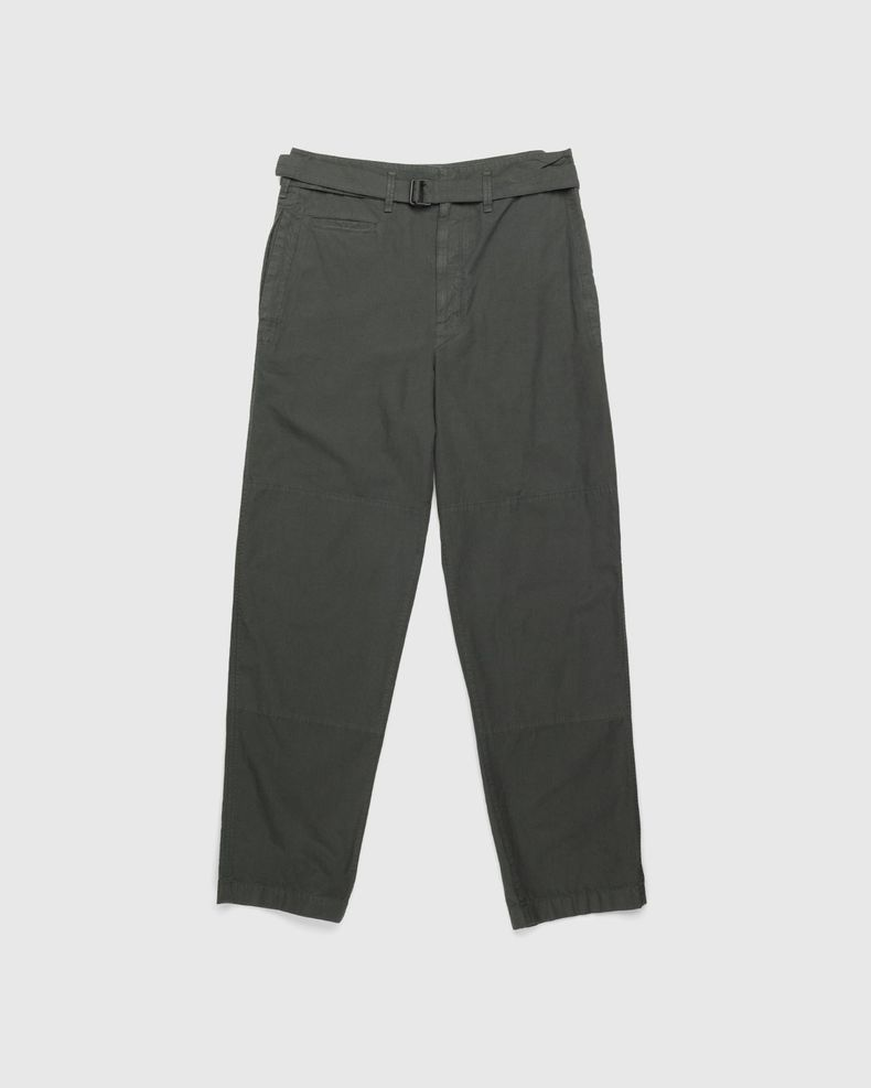 Lemaire – Water Repellent Trench Pants Deep Forest