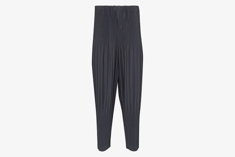 Pleated Loose Fit Trousers