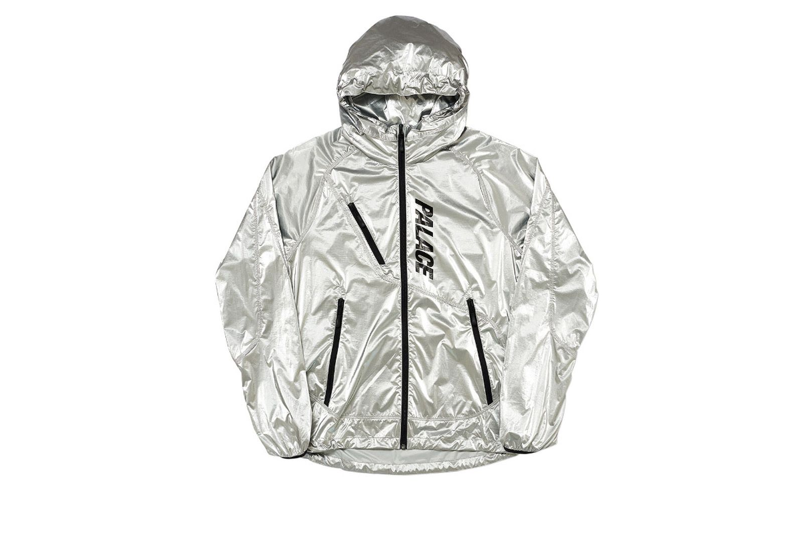 Palace 2019 Autumn Jacket G Loss Jacket silver front fw19