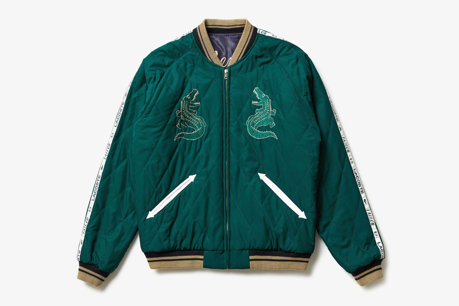 lacoste winter icons tailor toyo Alpha Industries gloverall k-way