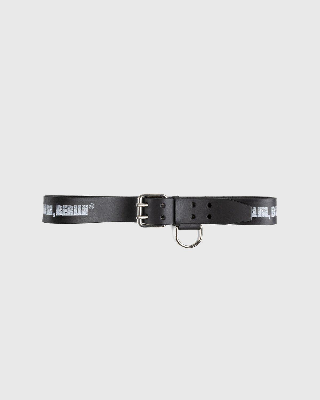 Highsnobiety x Butcherei Lindinger – Belt Black - Image 1
