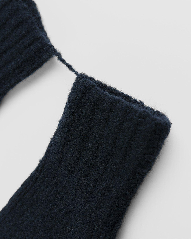 Acne Studios – Wool Blend Mittens Black - Image 2