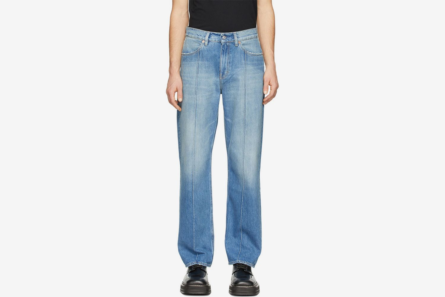Blue Formal Cut Jeans