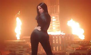 "Cardi B Heats Things Up in DJ Khaled's ""Wish Wish"" Video ft. 21 Savage"