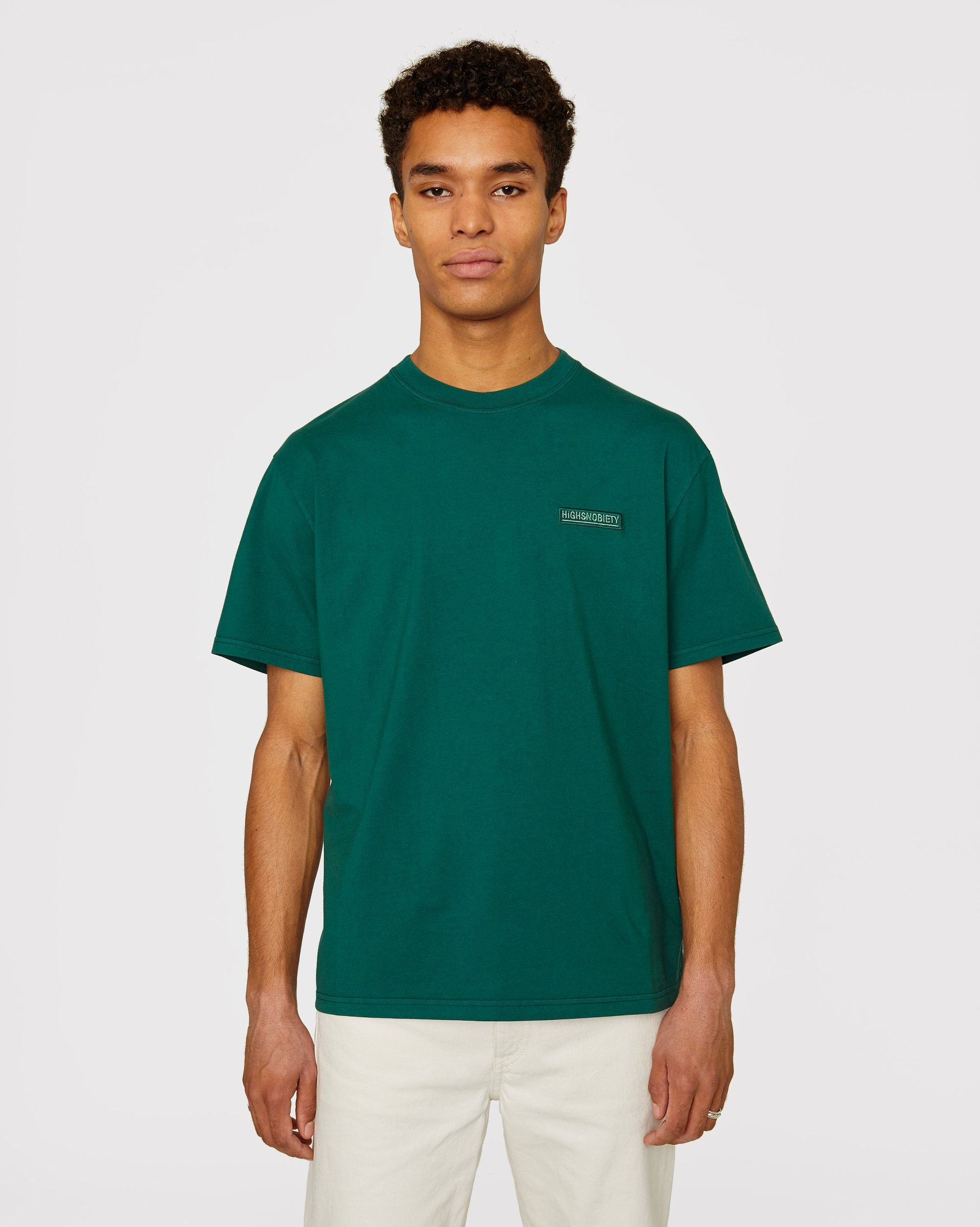 Highsnobiety Staples - T-Shirt Green - Image 2