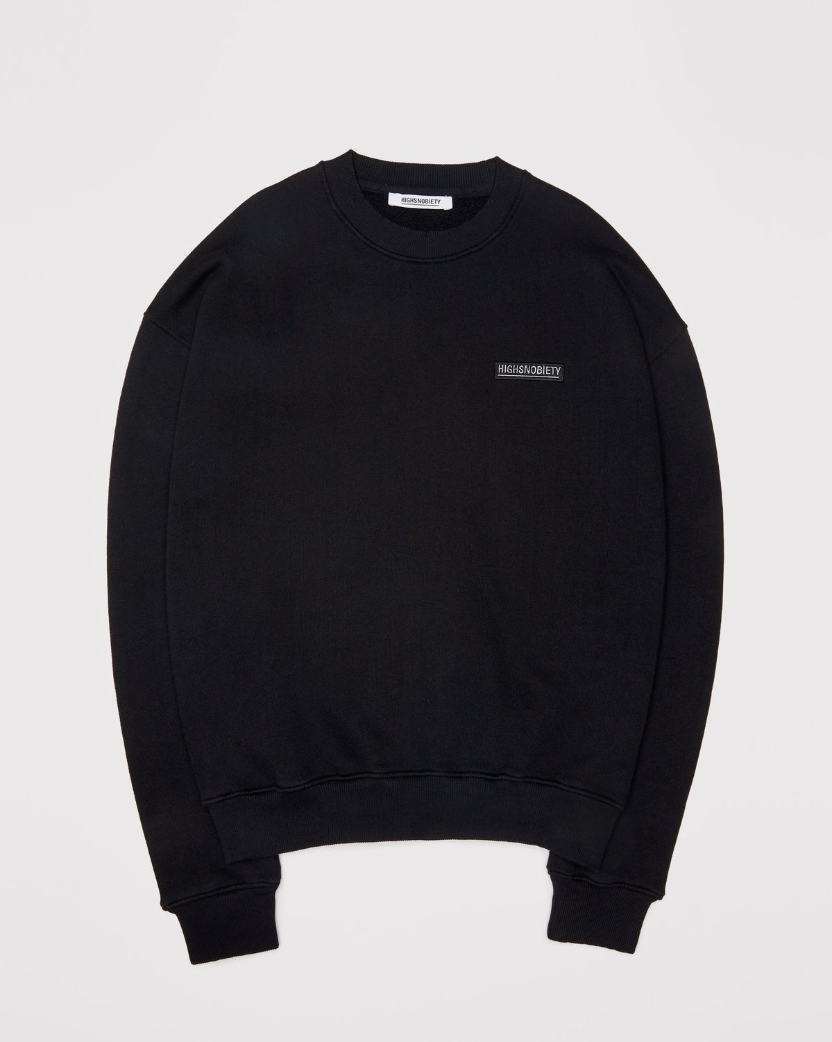 Highsnobiety Staples - Sweatshirt Black - Image 1