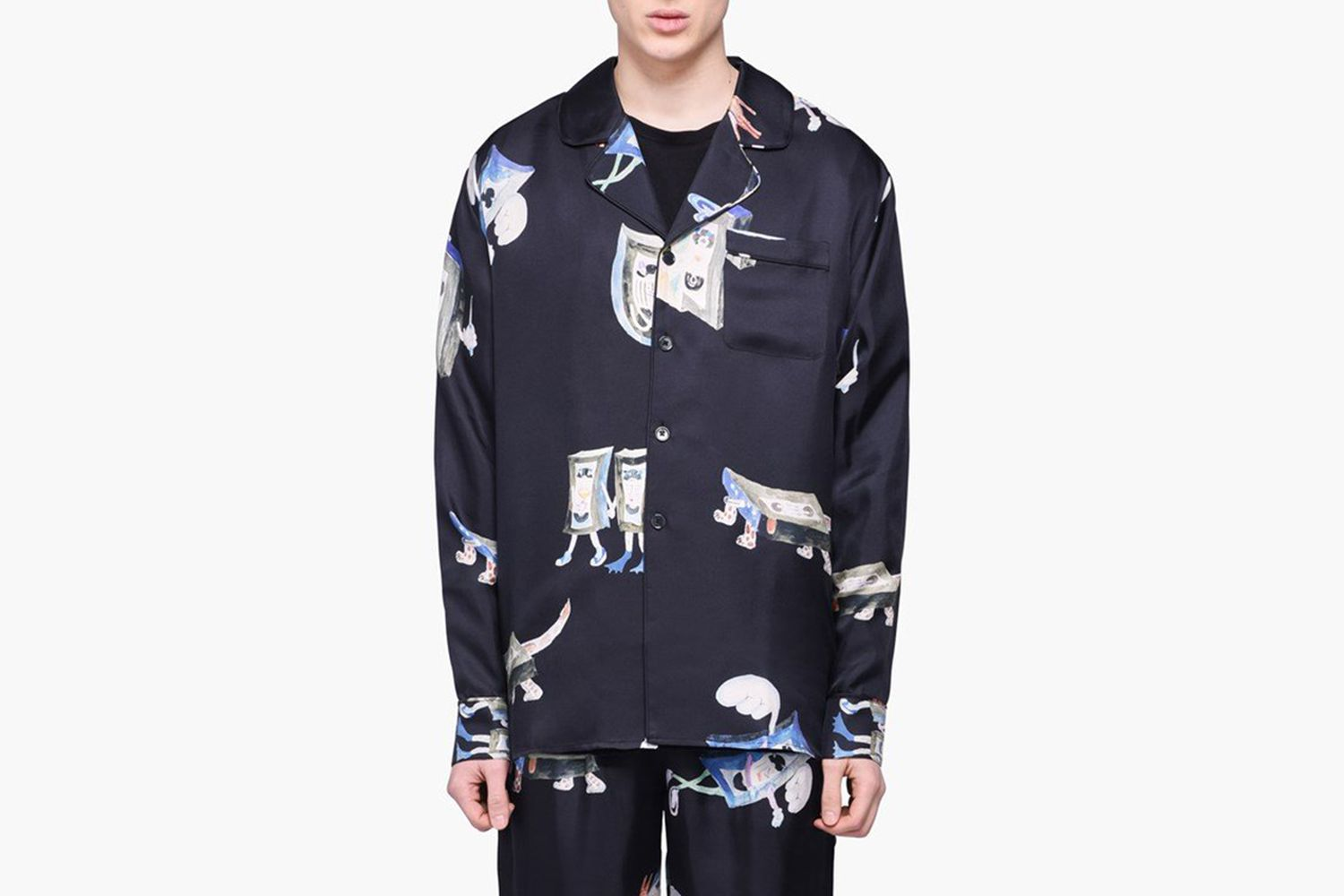 Richman Silk Shirt Jacket