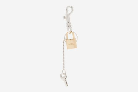 Brody Lock & Key-Charm Key Ring