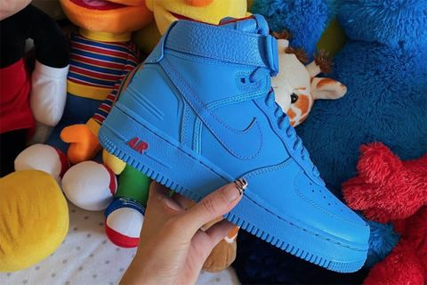Just Don Nike Air Force 1 blue