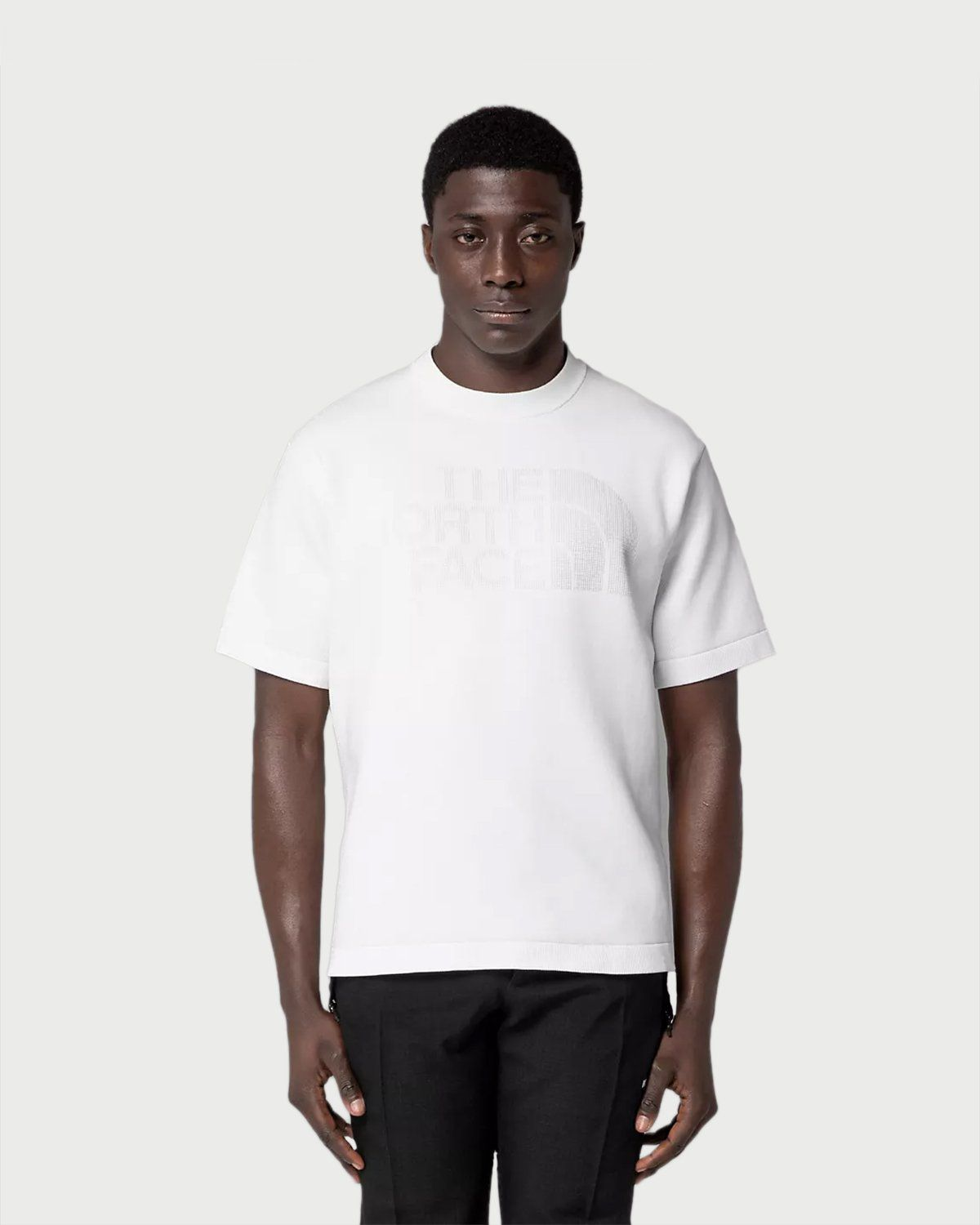 The North Face Black Series - Engineered Knit T-Shirt White - Image 2