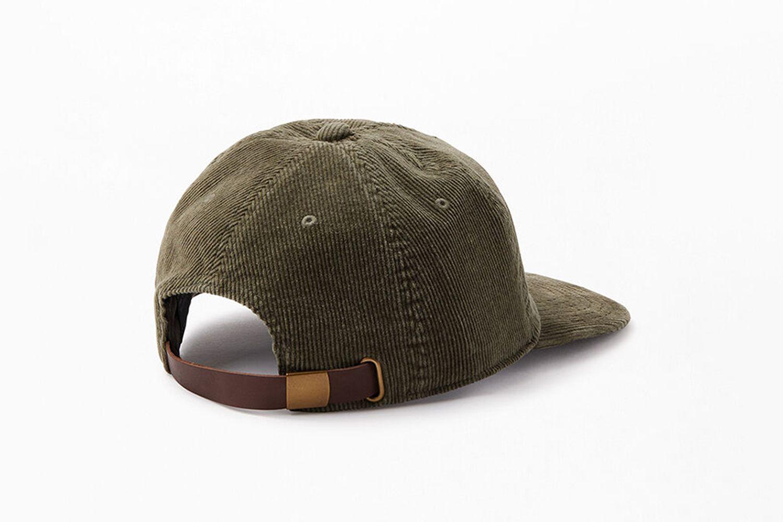 Wilderness Corduroy Strapback Hat