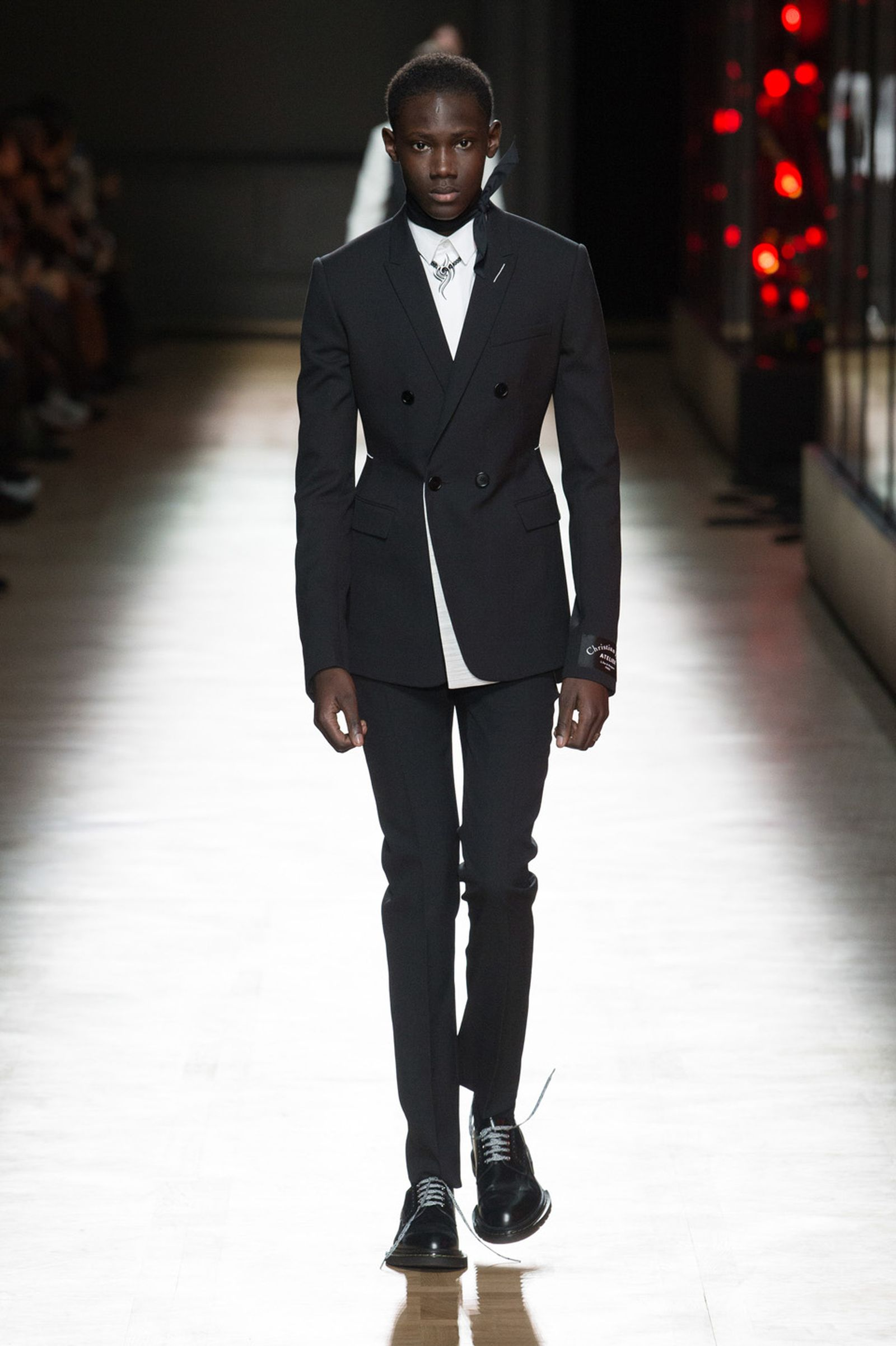 DIOR HOMME WINTER 18 19 BY PATRICE STABLE look06 Fall/WInter 2018 runway