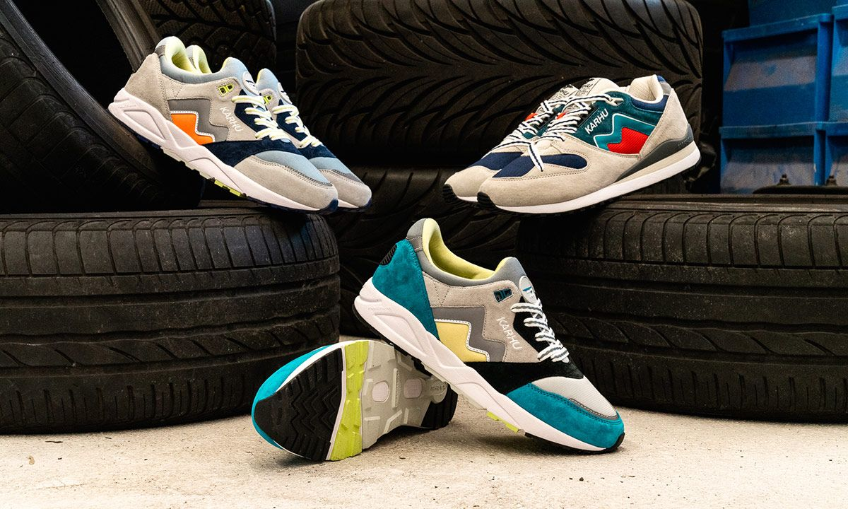 """Karhu's New """"Rally Pack"""" Puts Race Car Decals on Your Feet"""