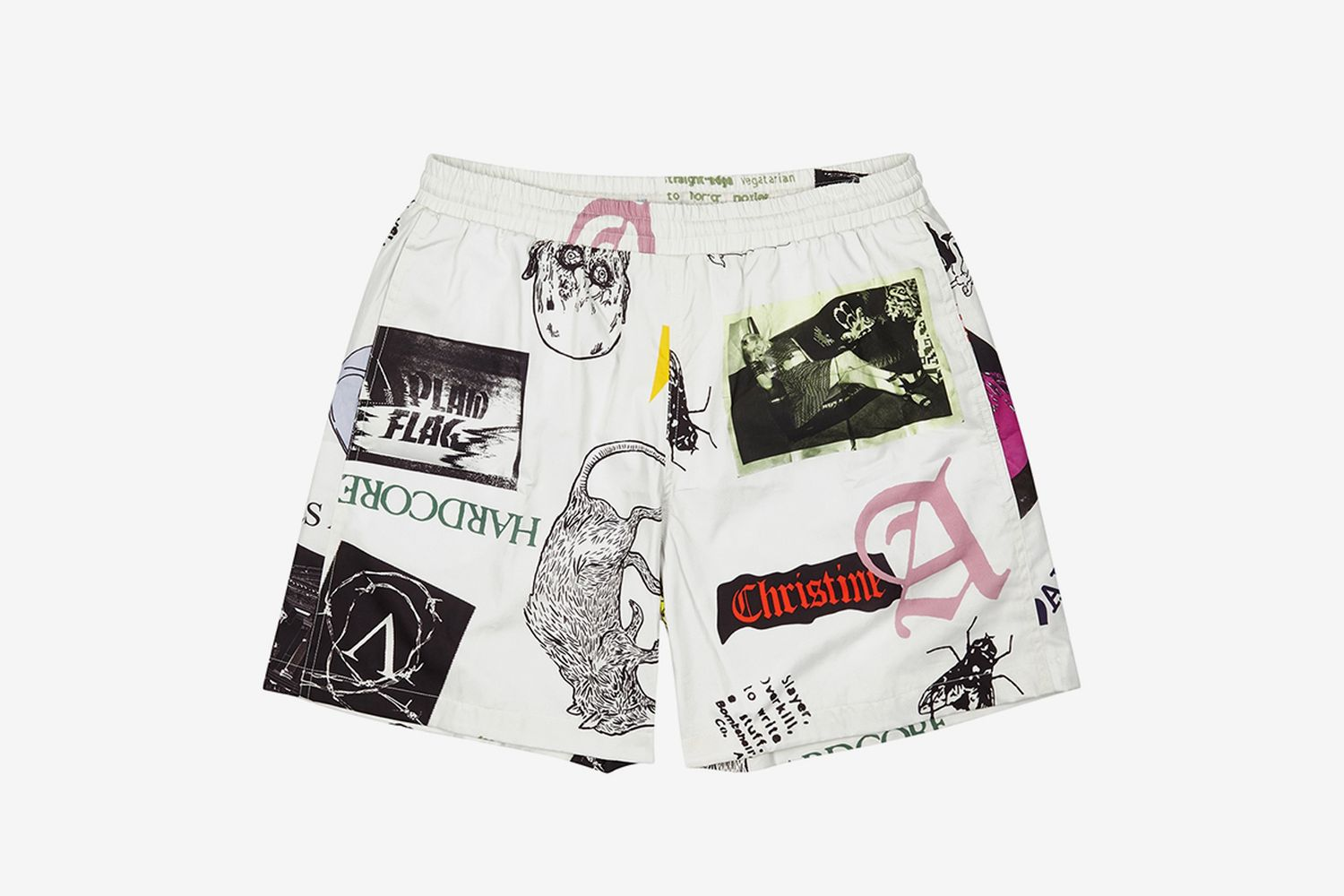 Thrasher Printed Cotton Shorts