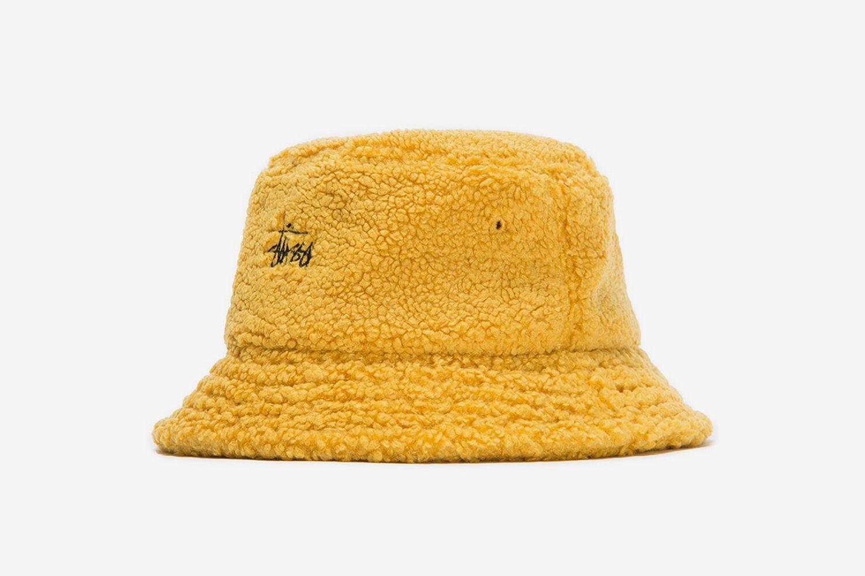 Sherpa Fleece Bucket Hat