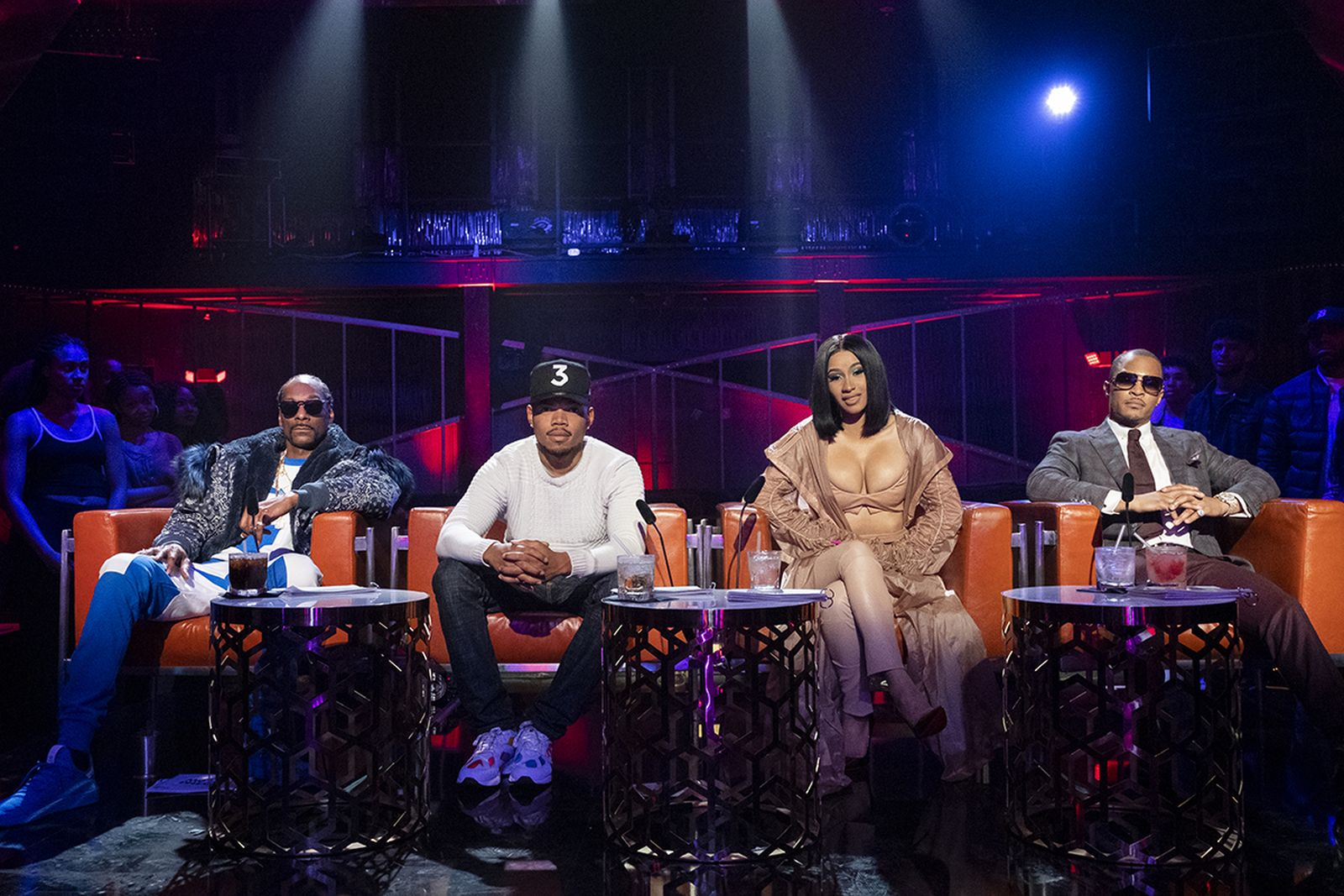 Snoop Doggy Dogg, Chance The Rapper, Cardi B, T.I. on Rhythm and Flow