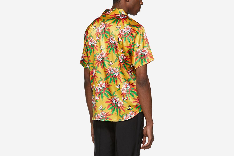 Weed Hibiscus Hawaiian Shirt