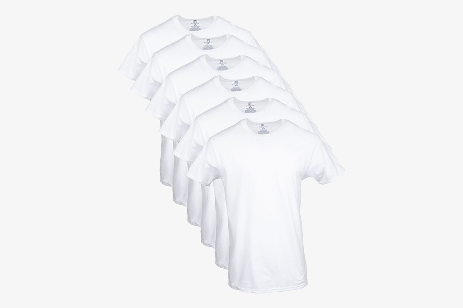 Men's Crew T-Shirts, 6-Pack