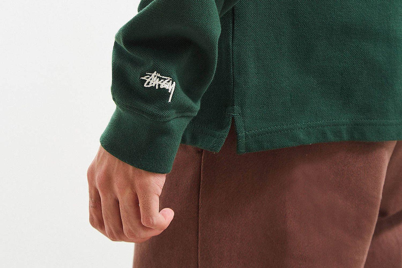 Full-Zip Longsleeve Polo