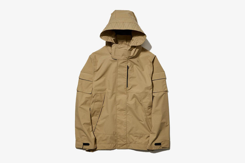 Hooded Over Jacket