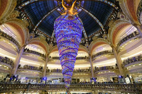 Galeries Lafayette Department Store Christmas