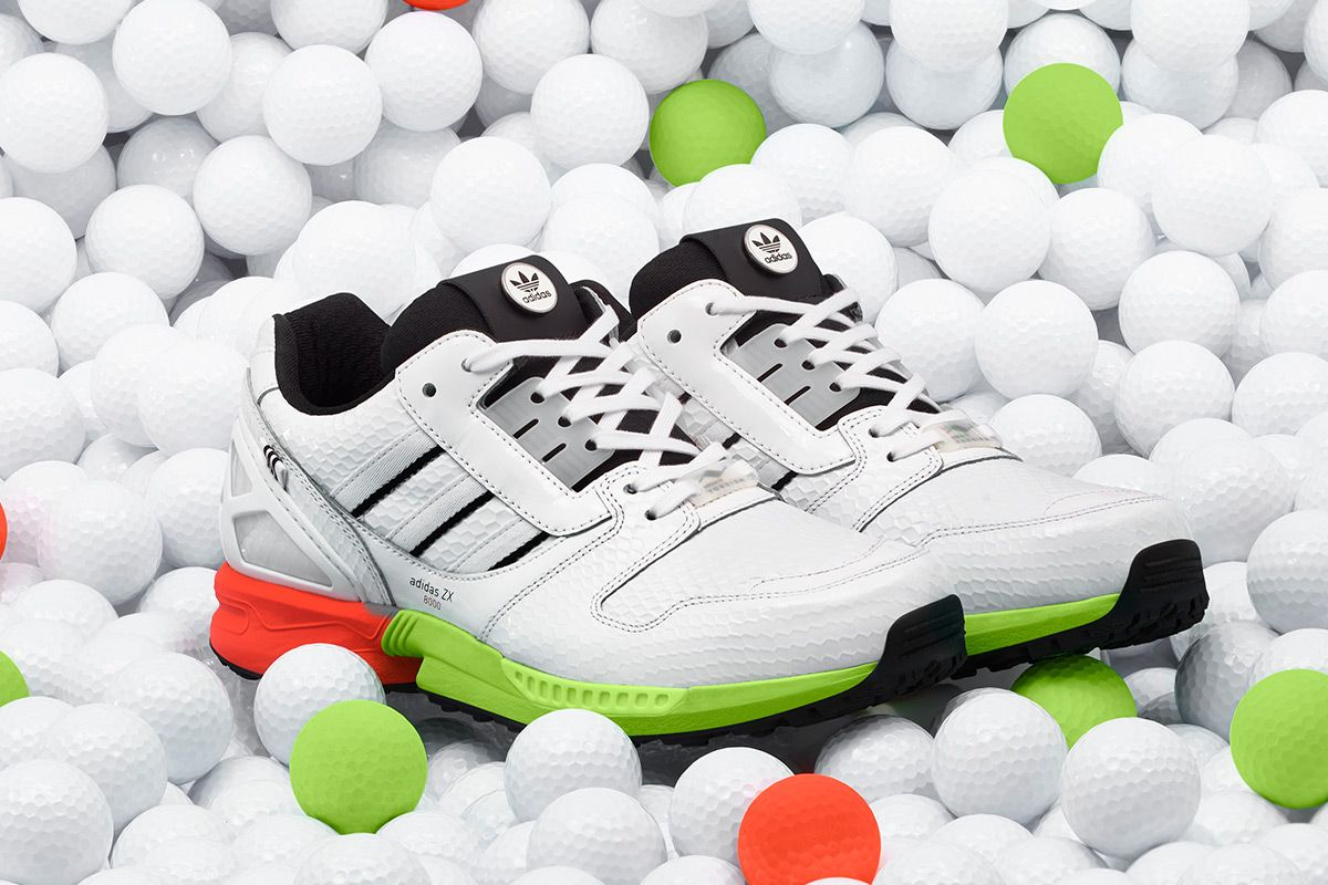 """Swagger Onto the Course With the adidas ZX 8000 """"Golf"""" 3"""