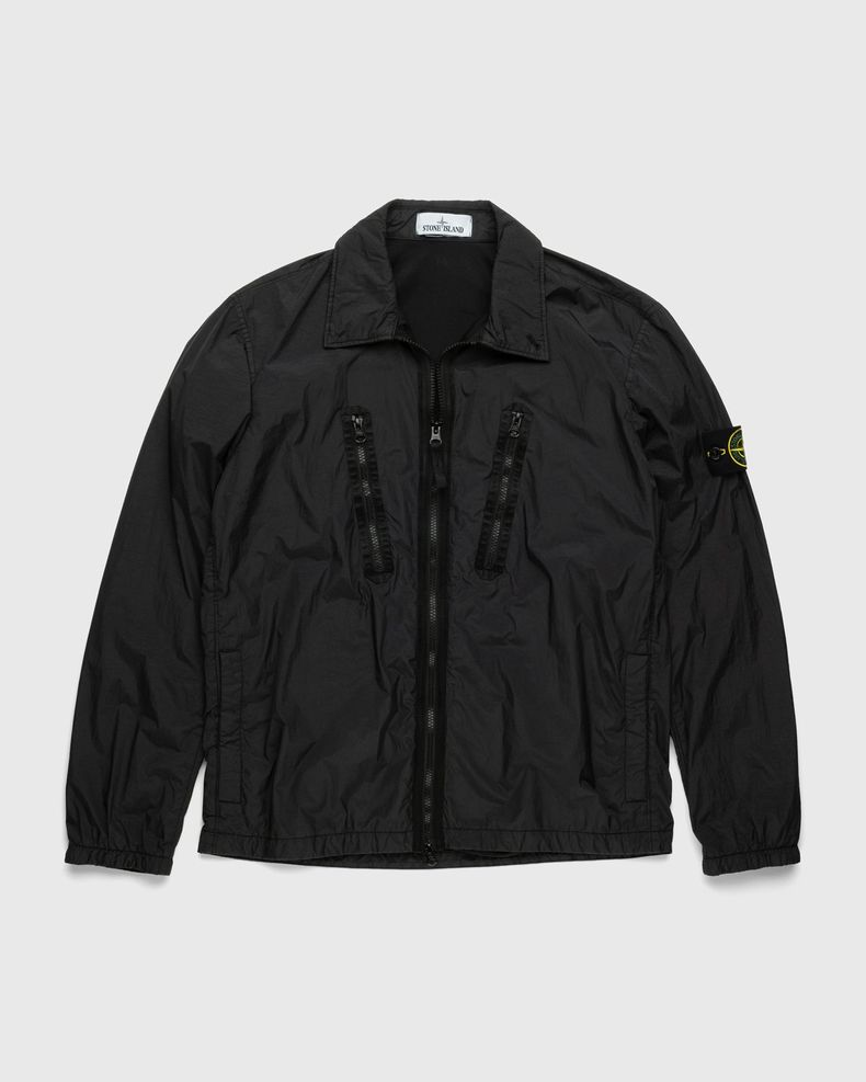 Stone Island – Overshirt Black
