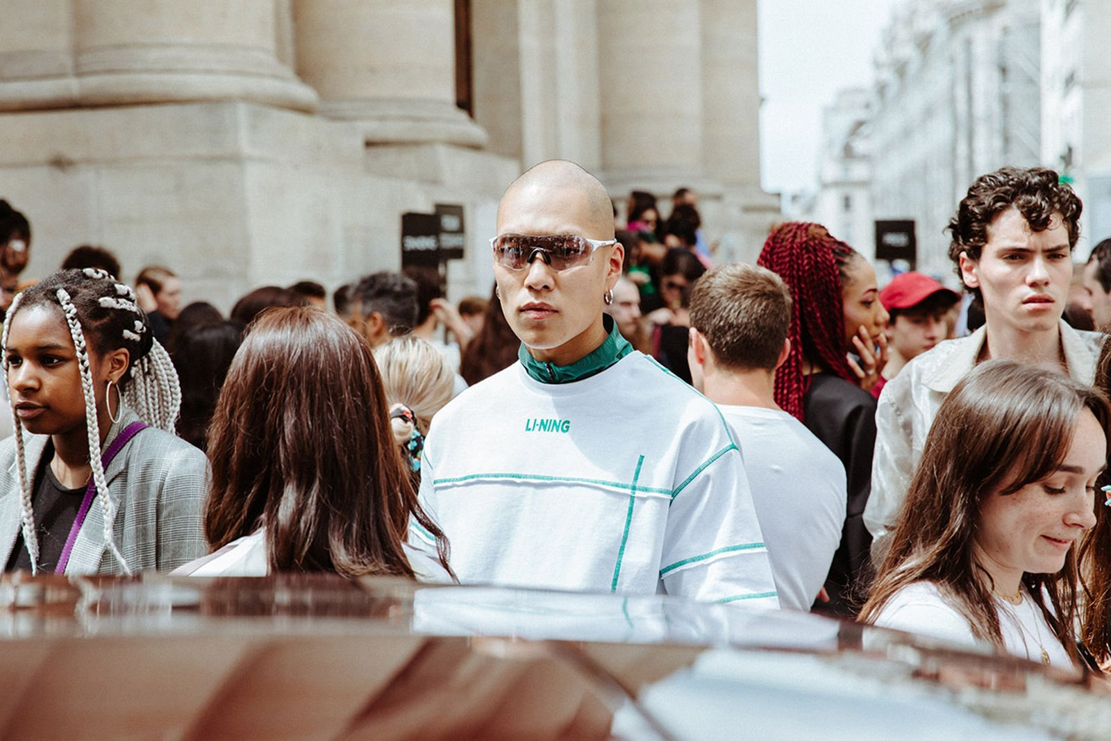 paris fashion week ss20 street style Russell Westbrook miguel virgil abloh