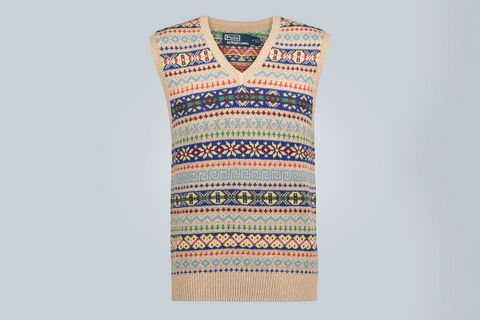 Saranac Lake Knitted Vest