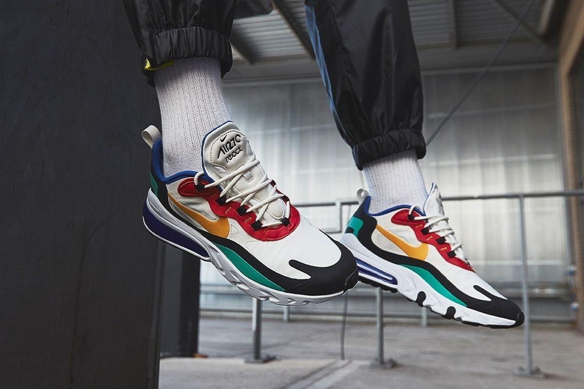 Nike air max 270 react All Running Shoes Foot Locker ...