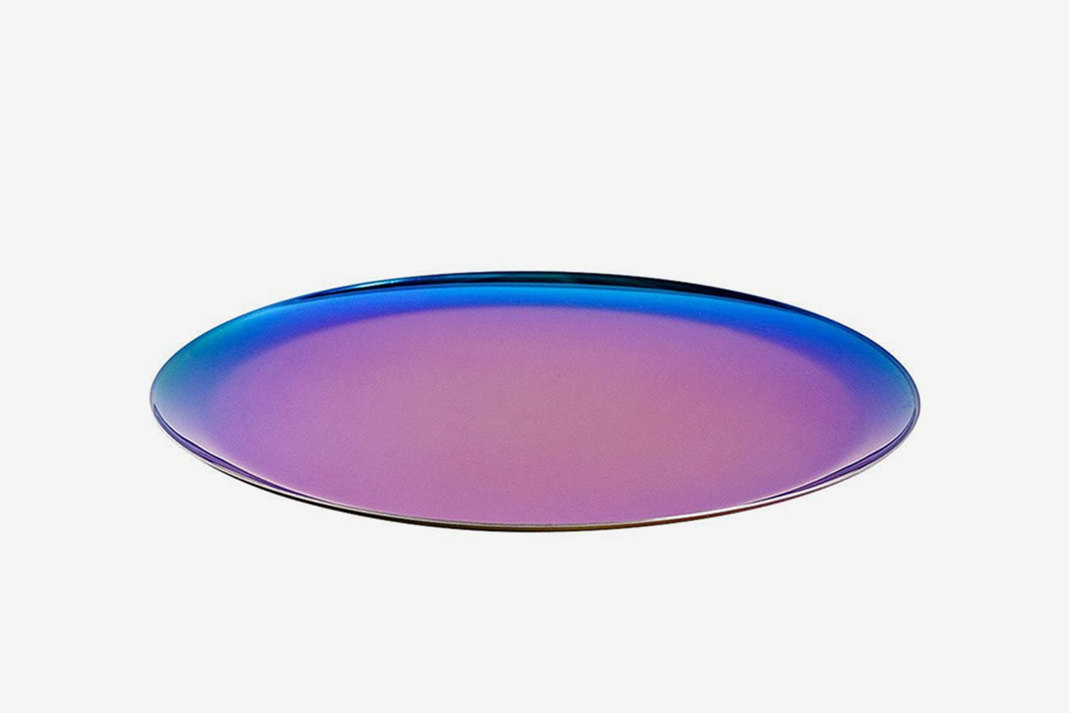 Rainbow Stainless Steel Serving Tray