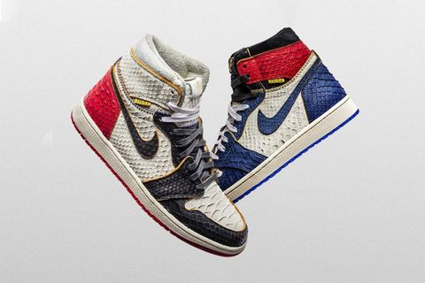 shoe surgeon lux union air jordan 1 pack release date price Lux Union Black Toe Air Lux Union Storm Blue Air Jordan 1 jordan brand