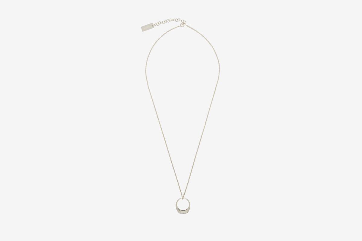 Silver La Chaine Chevaliere Necklace