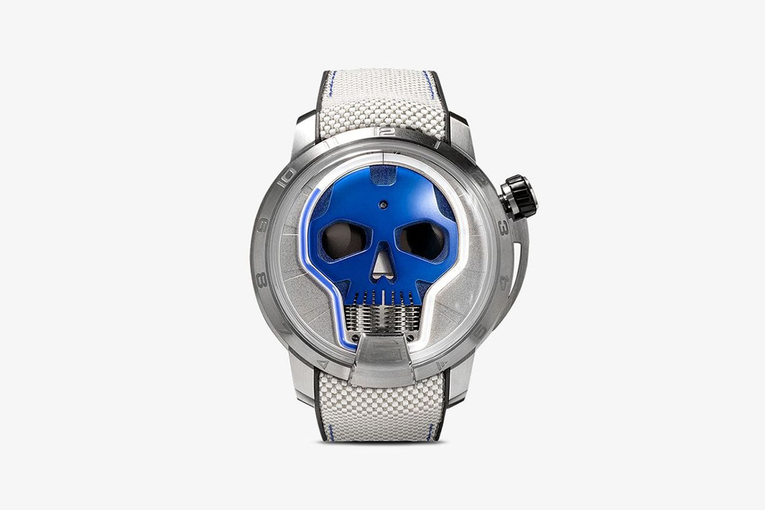 Skull 35 Jewels watch