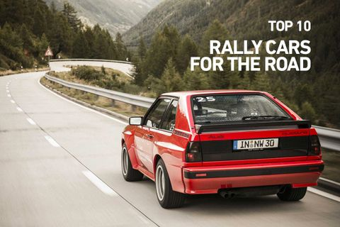 Ten Of The Best Rally Cars You Can Take On Road