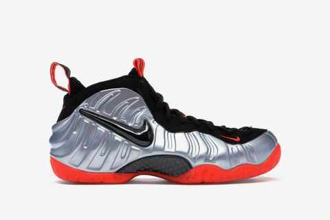 "buy online 0917a f93cd Nike Air Foamposite Pro ""Platinum"" ""Bright Crimson"""