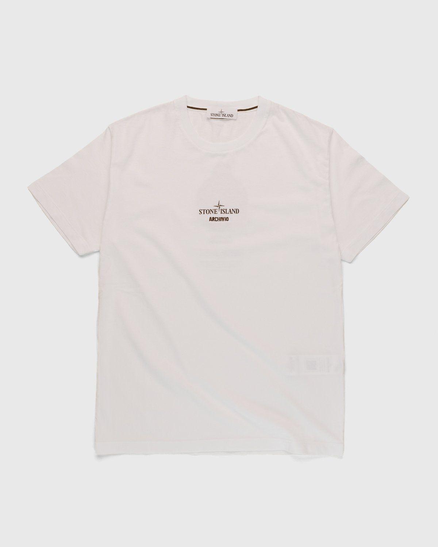 Stone Island – T-Shirt White - Image 1
