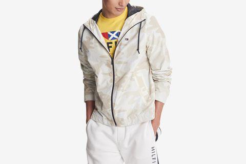 Full-Zip Windbreaker Jacket