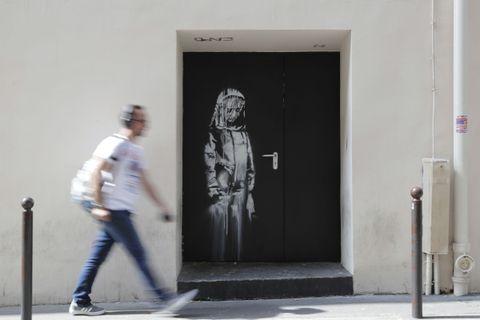 banksy artwork stolen paris bataclan