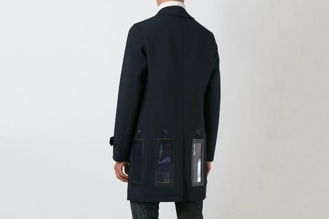 Solar Panelled Charging Coat