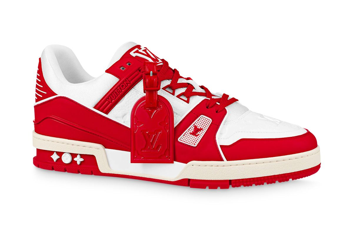 This Sample (RED) x LV Trainer Is Being Auctioned Off for Charity 6