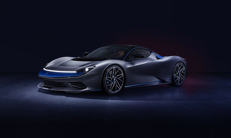 Automobili Pininfarina Debuts Battista Electric Hypercar