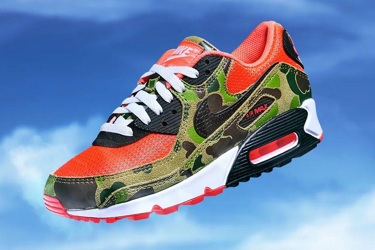 "Nike Air Max 90 ""Reverse Duck Camo</p>                     </div> <!--bof Product URL --> <!--eof Product URL --> <!--bof Quantity Discounts table --> <!--eof Quantity Discounts table --> </div> </dd> <dt class="